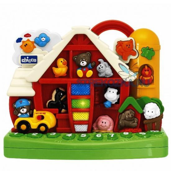 Развивающая игрушка chicco говорящая ферма