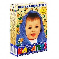 Карапуз Соль для ванн детская Череда 500 г