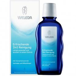 Weleda Освежающее очищающее средство 2 в 1 для лица (100 мл.)