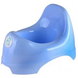 Горшок детский Little Angel, цвет голубой пастельный