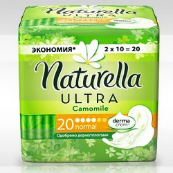 NATURELLA Ultra ������� ������������� ��������� � ���������� Camomile Normal Duo 20��