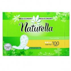 NATURELLA Женские гигиенические прокладки на каждый день Camomile Normal Deo 100шт