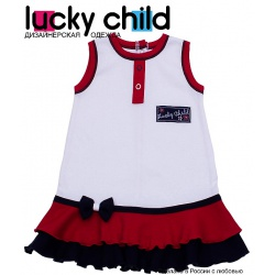LUCKY CHILD Платье детское (74-80)