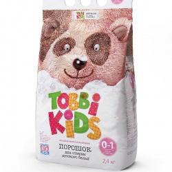 TOBBI KIDS Стиральный порошок 0-12 мес. 2400г