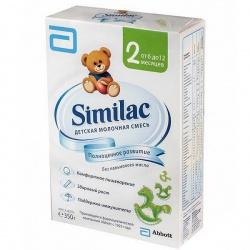 Молочная смесь Симилак 2 с 6 мес., 350 г. пачка