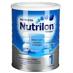 Молочная смесь Нутрилон Комфорт 1 с рождения, 900 г