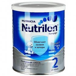 Молочная смесь Нутрилон Комфорт 2 с 6 месяцев, 400 г.