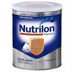 Молочная смесь Нутрилон Безлактозный с рождения, 400 г