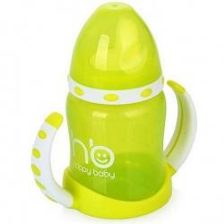 HAPPY BABY Поильник тренировочный (2 клапана) ERGO CUP 6+