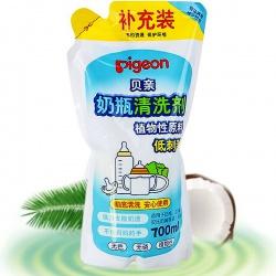 Pigeon Средство для мытья детской молочной посуды, овощей и фруктов сменный блок 700 мл