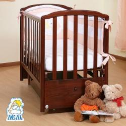 Кровать детская Маргаритка, маятник поперечный белый
