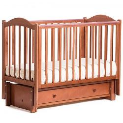 Кубаночка-2. Кровать детская маятниковая продольная слоновая кость