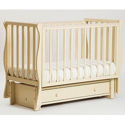Кубаночка-4. Кровать детская маятниковая продольная слоновая кость