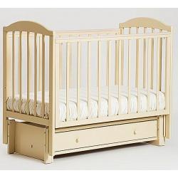 Кубаночка-5. Кровать детская маятниковая продольная слоновая кость