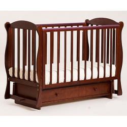 Кубаночка-6. Кровать детская маятниковая поперечная белый