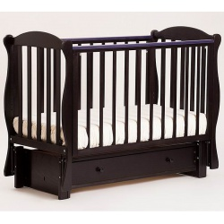 Кубаночка-6. Кровать детская маятниковая продольная слоновая кость