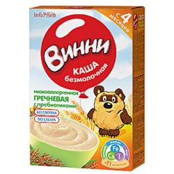 Винни Гречневая каша с пребиотиками молочная с 5 мес. 220 г