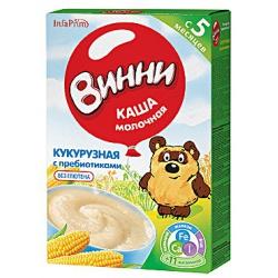 Винни Кукурузная каша с пребиотиками молочная с 5 мес. 220 г
