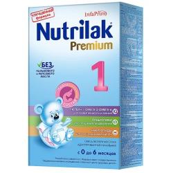 Молочная смесь Нутрилак Премиум 1 с рождения, 350 г