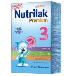 Молочная смесь Нутрилак Премиум 3 с 12 мес, 350 г
