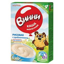 Винни Рисовая каша с пребиотиками молочная с 5 мес. 220 г