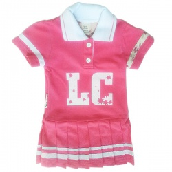 LUCKY CHILD Платье детское (коралловый) (68-74)