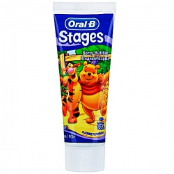 Oral-B Stages ������ ����� ������� ����� (Berry Bubble) 75 ��