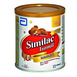 Молочная смесь Симилак Изомил 1 с рождения, 400 г.
