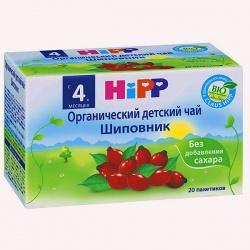 Чай Хипп шиповник пакетированный с 4 мес, 30 г.