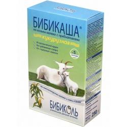 Бибикаша Кукурузная каша на козьем молоке с 5 мес, 200 г