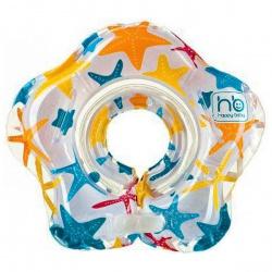 HAPPY BABY Круг музыкальный на шею для купания Dolfy с 3 мес