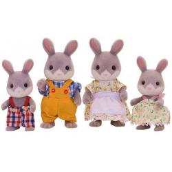 Набор Sylvanian Families Семья серых кроликов