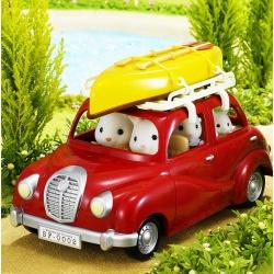 Семейный автомобиль Sylvanian Families красный