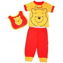 Комплект одежды Винни, 3 предмета (желто-красный)