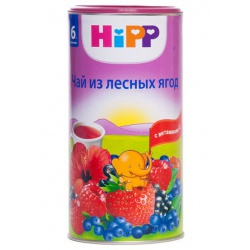 Чай Хипп из лесных ягод с 6 месяцев, 200 г.