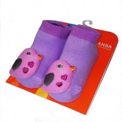 Носочки с игрушкой Птичка