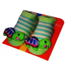 Носочки с игрушкой Черепашка