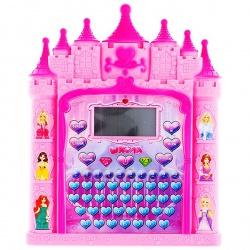 """Обучающий планшет """"Сказочный замок"""", с подсветкой, 8 функций."""