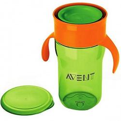 Avent Чашка-поильник с 18 месяцев зеленый/красный (340 мл)