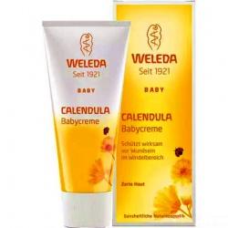 Weleda Детский крем с календулой для защиты кожи в области пеленания (75 мл)