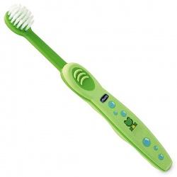 Chicco Зубная щетка зеленая