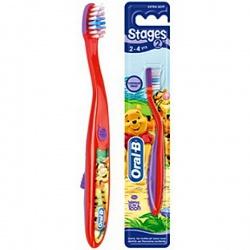 Oral-B Stages 2 Зубная щетка мягкая для детей от 2 до 4 лет