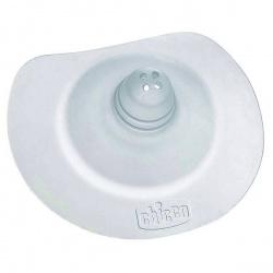 Chicco Накладка для сосков силиконовая, макси (2 шт.)