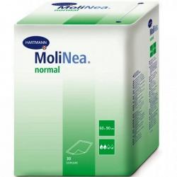 Пеленки MoliNea 60-60 см, впитываемость 715 мл. (30 шт)