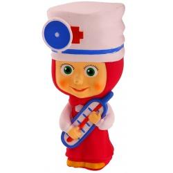 Резиновая игрушка Маша-доктор