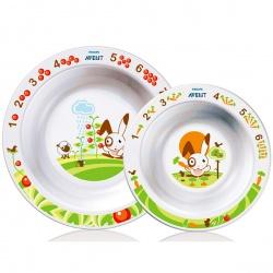 Avent Набор из 2-х глубоких тарелок