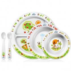 Avent Набор посуды малыша от 6 мес.