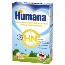 Молочная смесь Хумана ЛП (Hn) с пребиотиками с рождения 300 г