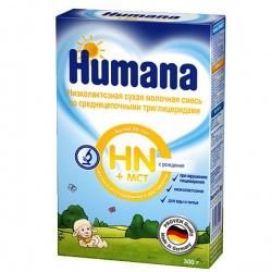 Молочная смесь Хумана ЛП+СЦТ (Hn+mct) с рождения 300 г