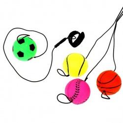 Мяч попрыгун на липучке спорт 4 см (набор 12 шт)